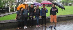 rain day Delft