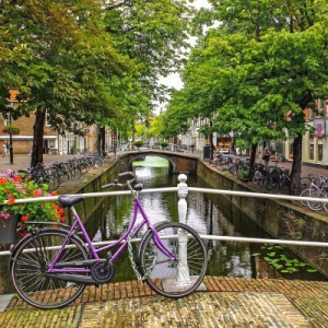Bike in Delft Free walking tour