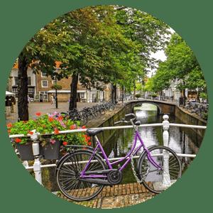 Bike Delft tour